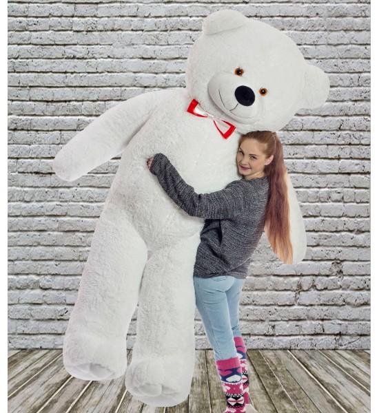 Плюшевый мишка Mister Medved Дилан 2 м 50 см Белый