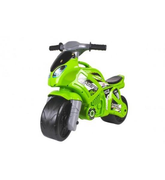Игрушка Мотоцикл зеленый 6443