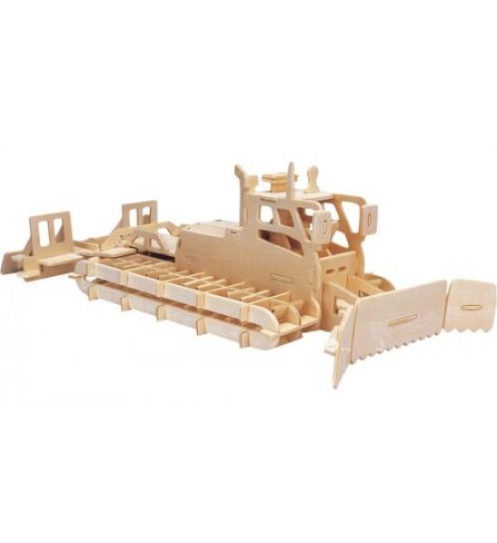 Деревянный конструктор Снегоочистительная машина П064