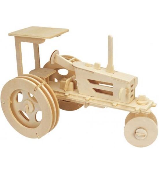 Деревянный конструктор Трактор П078