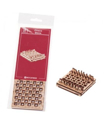 Деревянный конструктор Игра. Шахматы 38 эл 10026