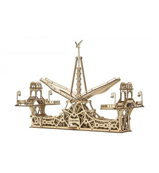 Деревянный конструктор Пешеходный мост 229 эл 10006