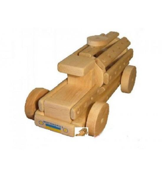 Эко-конструктор Молоковоз деревянный 172009