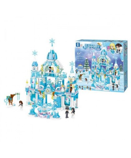 Конструктор Замок Frozen 801 дет QL1143