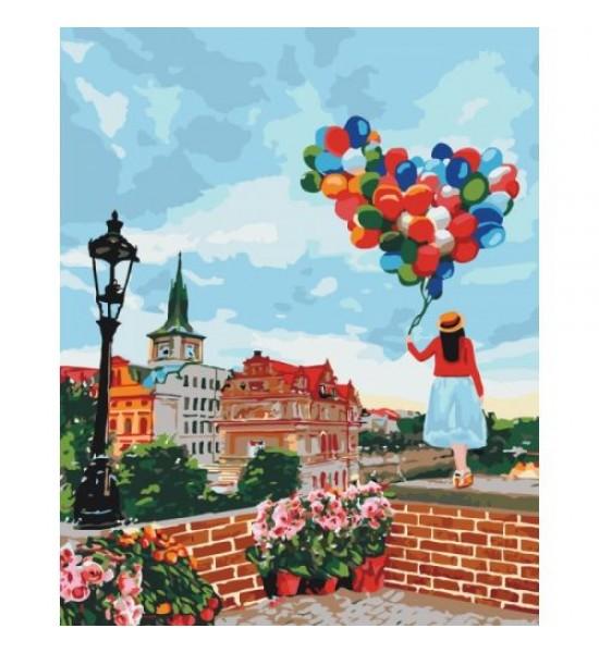 Картина по номерам Гуляя по Праге ★★★ КНО3518