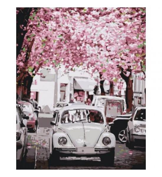 Картина по номерам Volkswagen Beetle КНО3521