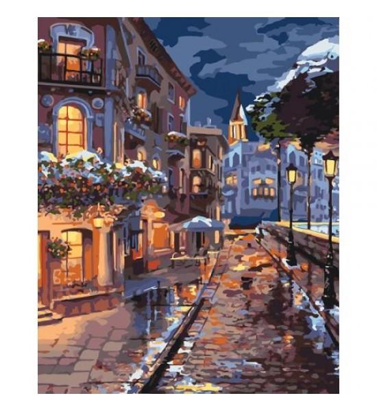 Картина по номерам Зимний городок ★★★★ КНО3542