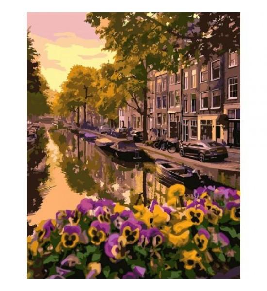 Картина по номерам Амстердам КНО3553