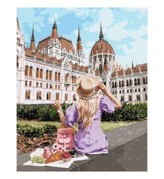 Картина по номерам Выходные в Будапеште ★★★★★ КНО4780