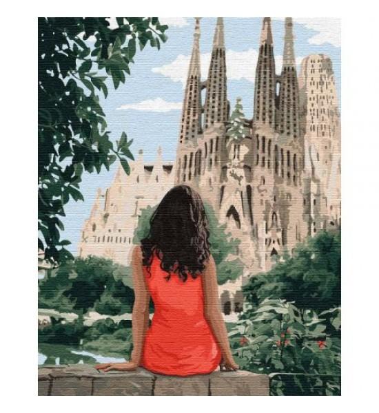 Картина по номерам Путешествуя Барселоной ★★★★ КНО4746