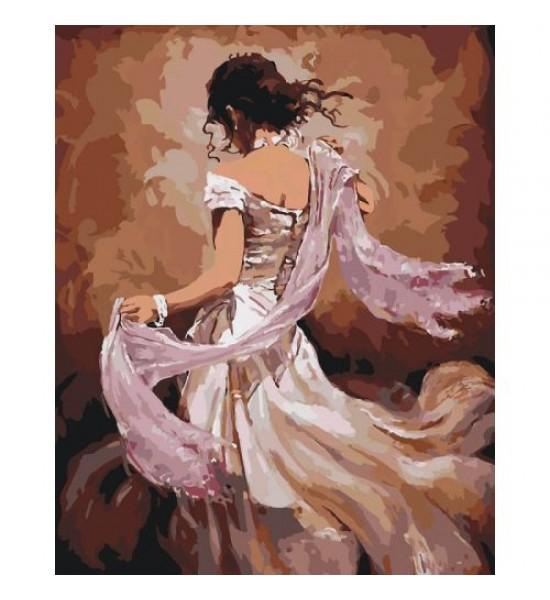 Картина по номерам Танцовщица фламенко ★★★★ КНО2682