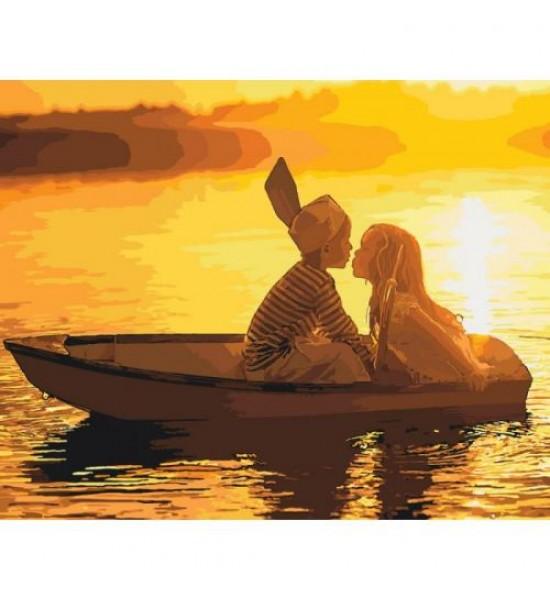 Картина по номерам Первая любовь КНО2322
