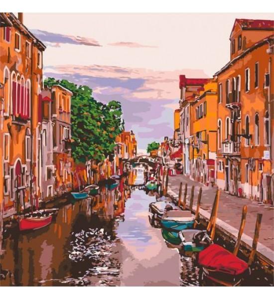 Картина по номерам Венецианский вечер ★★★★★ КНО3571