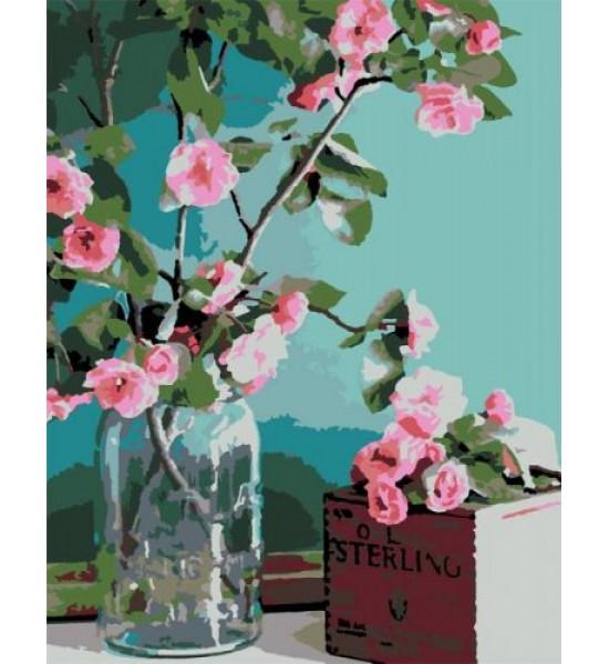 Картина по номерам Нежность цветов ★★☆ N00013179