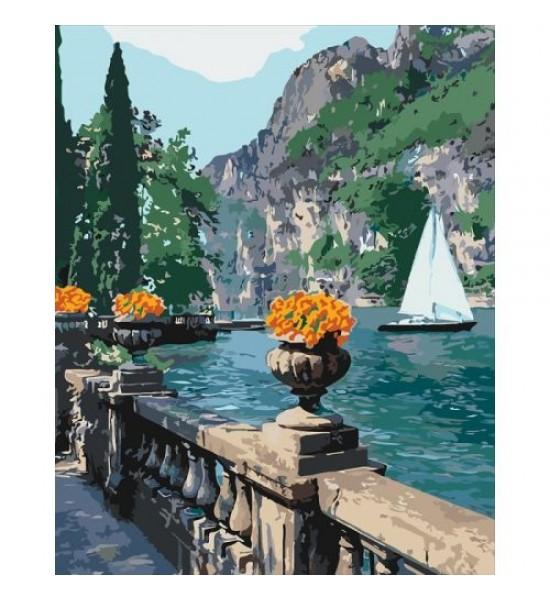 Картина по номерам Морская бухта КНО2740