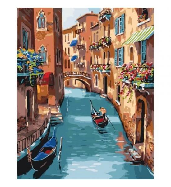 Картина по номерам Солнечная Венеция ★★★★ КНО2153