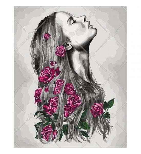Картина по номерам Расцветаю КНО4576