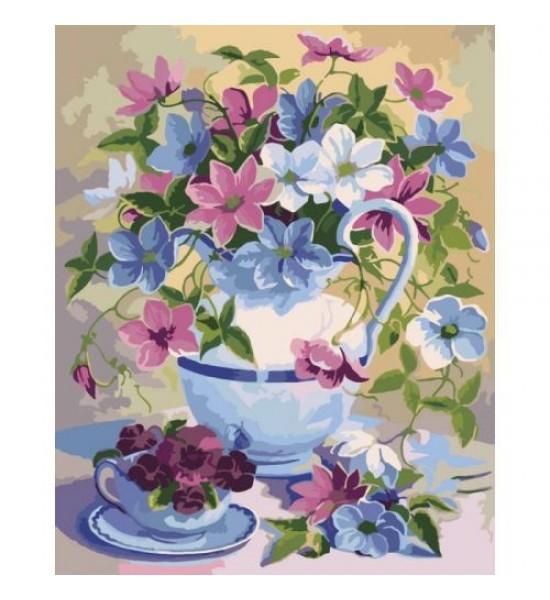 Картина по номерам Цветочная поэзия КНО2049