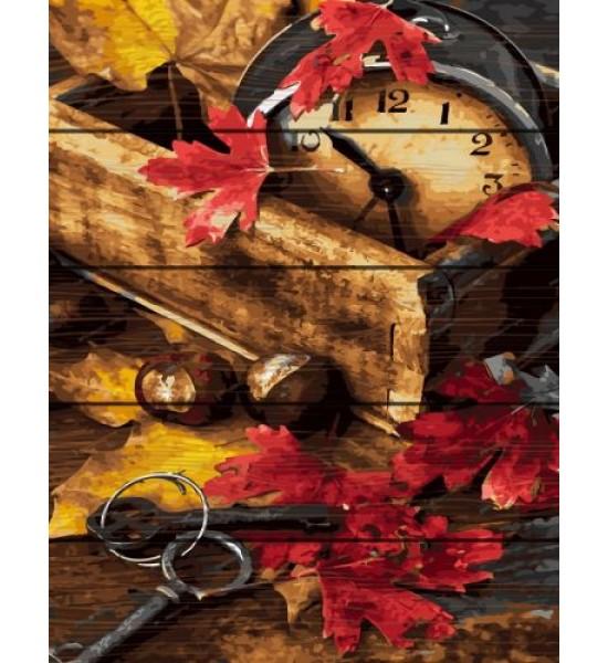 Картина по номерам на дереве Осенняя композиция GXT31990