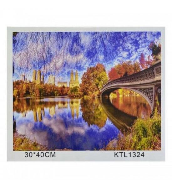 Картина по номерам Осень KTL1324