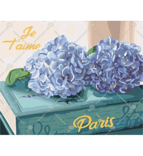 Картина по номерам Любимый Париж КНО3034