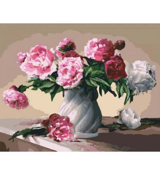 Картина по номерам Цветы любви КНО3001