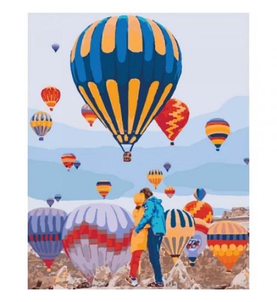 Картина по номерам Воздушные мечты КНО4503