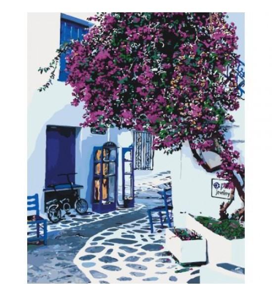 Картина по номерам Солнечная Греция КНО2168