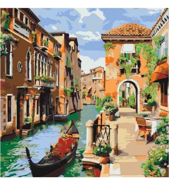 Картина по номерам Венецианское утро КНО2161