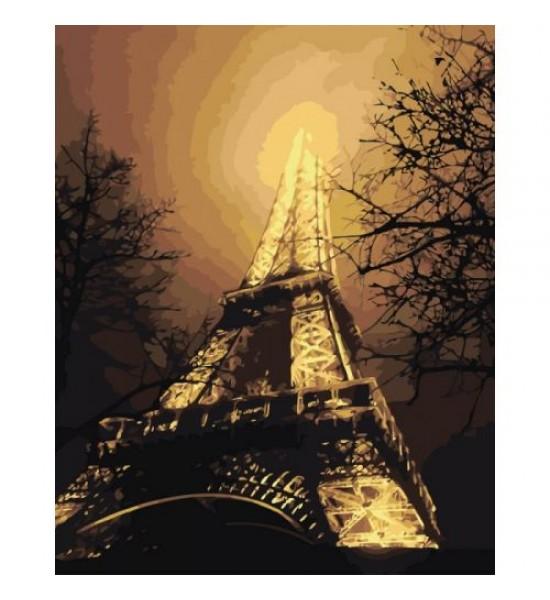 Картина по номерам В красках ночного города ★★★★ КНО2190