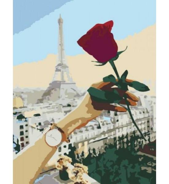 Картина по номерам Роза ★★☆ N00013350