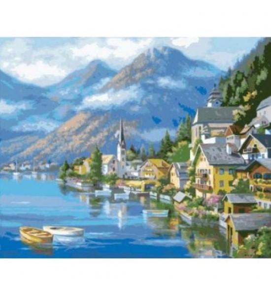 Картина по номерам Австрийский пейзаж ★★★★ КНО2143