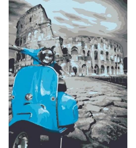 Картина по номерам Рим RB-0151