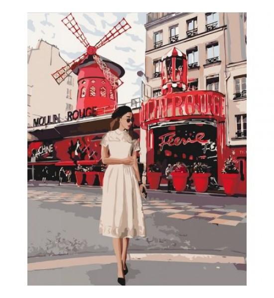 Картина по номерам Moulin Rouge ★★★★ КНО4657
