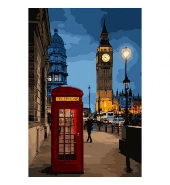 Картина по номерам Вечерний Лондон 2 ★★★★ КНО3546