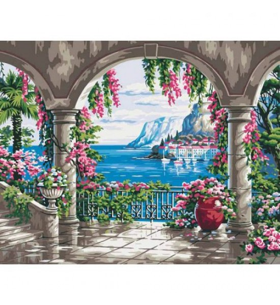 Картина по номерам Волшебное место 2 КНО2235