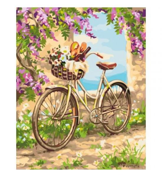 Картина по номерам Деревенское утро КНО2207