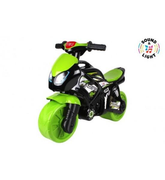 Игрушка Мотоцикл зеленый 6474