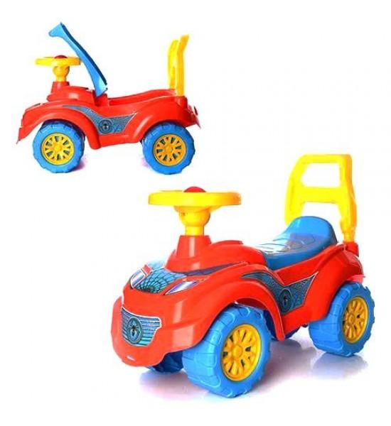 Машинка-толокар Спайдер красный 3077