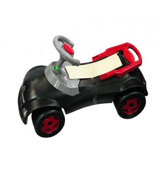 Машинка-каталка Мерсик (черная) 016_Ч
