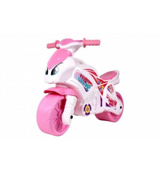 Мотоцикл розовый 6450