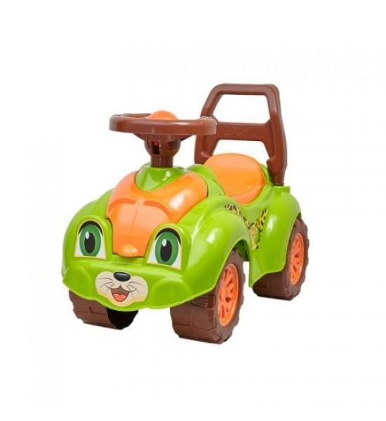 Машинка-каталка для прогулок (салатовая) 3428