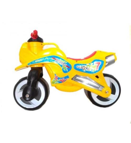 Каталка Мотоцикл (оранжевый) KW-11-006 ОРА