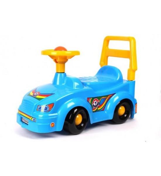 Машинка Автомобиль для прогулок (синяя) 2483
