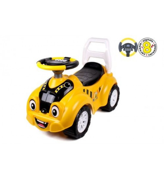 Автомобиль для прогулок Пчелка со звуками 6689