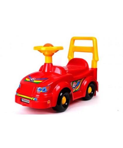 Машинка Автомобиль для прогулок (красная) 2483