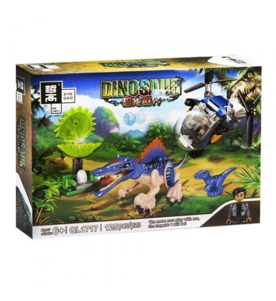 Конструктор Minecraft. Динозавры: Спинозавр 125 дет QL1717