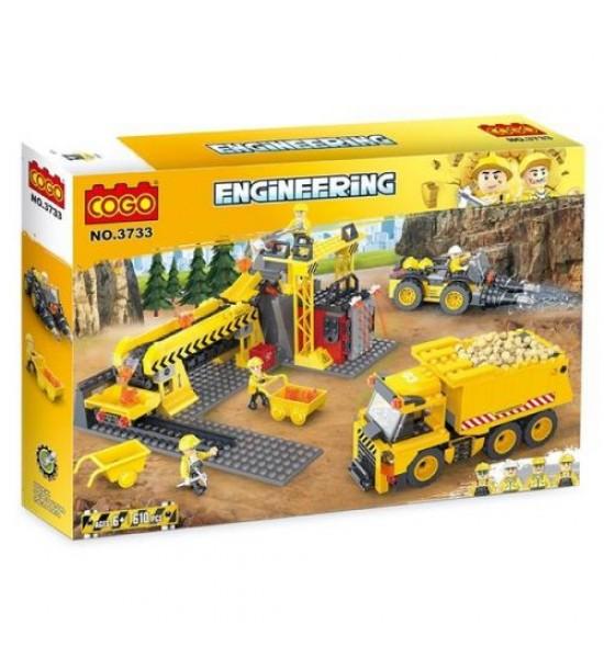 Конструктор Engineering 604 детали 3733