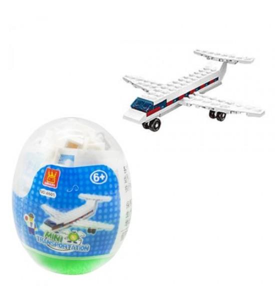 Конструктор Мини транспорт. Самолет 6501-6506