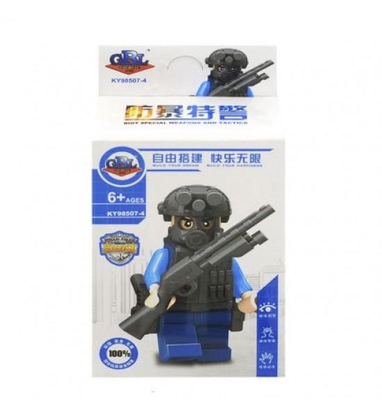 Конструктор Полицейский KY98507-4